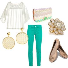 Add a little Spring to your step, created by elizzabizz on Polyvore