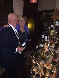 Use one of our trees for your next fundraiser. Donation for each wine bottle one of your customers adds to the tree.