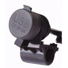 USB Conector 12-24V para manillar de 22 m