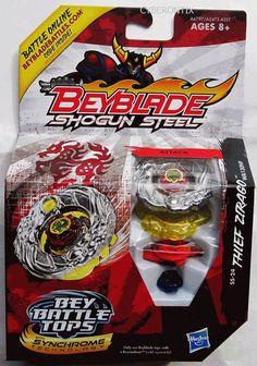 USA Beyblade THIEF ZIRAGO Toy Shogun Steel 2012 SS-24 Attack Top HASBRO New #Hasbro #Beyblade #Cyberontix