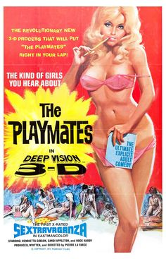 The Playmates one sheet poster.
