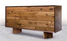 New Old Dresser Design by Sentient Furniture, Brooklyn Plywood Art, Plywood Design, Plywood Furniture, Repurposed Furniture, New Furniture, Plywood Storage, Furniture Ideas, Bedroom Furniture, Reclaimed Wood Dresser