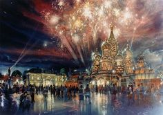 Russia Pavilion, World Showcase, EPCOT Center, Walt Disney World (never built)