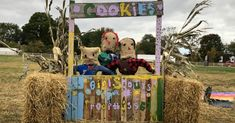girl scout scarecrow - Google Search