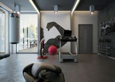 VrayWorld - Minimal Fitness design