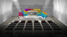 Stage Design KPID Awards 2012 by Haristya Nugroho, via Behance