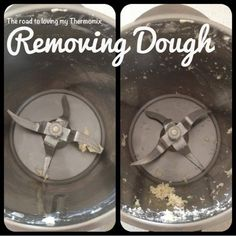 The road to loving my Thermomix: Removing dough from blades Thermomix Bread, Bellini Recipe, How To Make Dough, Gluten Free Recipes For Dinner, Everyday Food, Kitchen Recipes, Meals For One, Cooker Recipes, Food Hacks