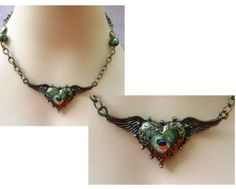 Gold Steampunk Heart Pendant Necklace   http://cgi.ebay.com/ws/eBayISAPI.dll?ViewItem=160882138556