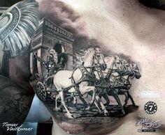 Valiant Gladiator Tattoo Designs (16)