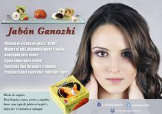 Con el uso del #jabón Ganozhi su piel estará más suave