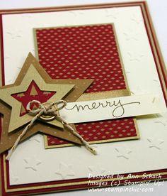The Stampin' Schach - SU - Christmas Stars