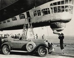 Gondola of the Graf Zeppelin
