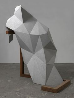 Low-res aluminum. #Aluminum #Sculpture #Inspiration Toby Ziegler, The Cripples (5) (2012), via Artsy.net