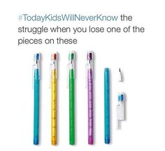 #todayskidswillneverknow I remember these!