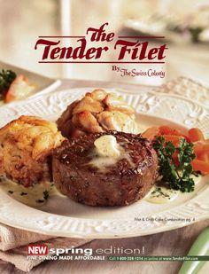 Tender Filet cover for Spring 2004.