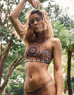 Boho Swim Halter - Liberated Heart | Boho chic bohemian boho style hippy hippie chic bohème vibe gypsy fashion indie folk yoga yogi womens fashion style swimwear swimsuit bathing suit summer beach wear beachy sand vacation