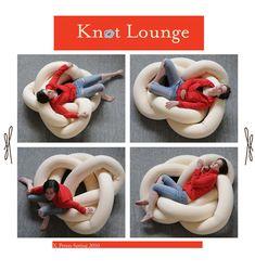 Оригинальная подушка-узел: мастер-класс и идеи - Ladiesvenue