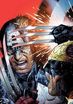 Wolverine vs. Captain America