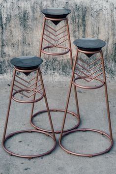 We worked closely with a designer to deliver these one of a kind resin and rosewood stools of varying sizes and shapes. The challenges were many and the manufacturing time and the amount of effort and prep that went into it was all worth it in the end! Resin Art, Bar Stools, Shapes, Effort, Challenges, Inspiration, Design, Home Decor, Chair