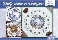 Hobbydols nr 207 Hartje winter in Hobbydots - Sheets