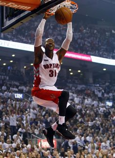 Terrence Ross in the Air Jordan 8. Basketball ...