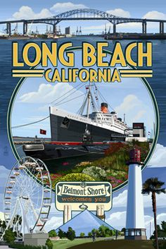 Long Beach, California is important to me for many reasons but the main one is because it is the home of the queen Mary. That is the ship that my great grandafther used to escape Hitler during his invasion of Poland during the Holocaust. He left his whole family and they all died while he continued the bloodline of our family.