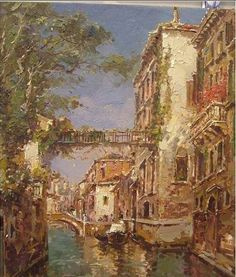 Venice Oil Paintings--Connection