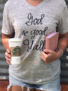 God is Good Y'all - Short Sleeve $38