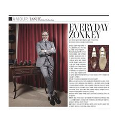 http://chicerman.com  zonkeyboot:  Everyday Zonkey in L'Officiel Hommes Korea December issue. #zonkeyboot #mensshoes #menswear #michaelrollig #handweltedshoes #handmadeshoes #lofficielhommes #mensstyle #shoes #shoeporn #loafers #oxfords #derby #monks  #menshoes