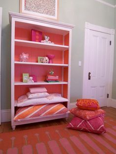 Madeline Weinrib Orange Talitha Cotton Carpet, via Lotus Bleu
