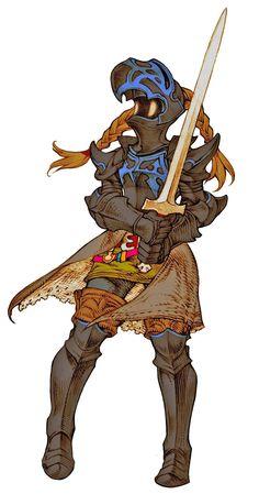 暗黒騎士(女)