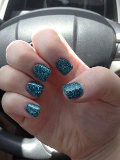 Blue glitter!!