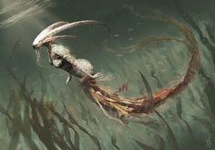 Zodiac Monsters.  Capricorn.  By: Damon Hellandbrand