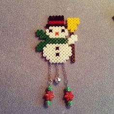 Christmas ornament perler beads by Saskia