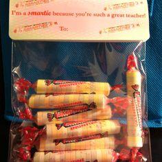 Teacher's Valentine's gift