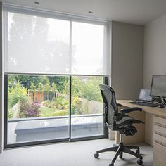 Image gallery showing recessed blinds in windows, gables and skylights. Skylight Covering, Skylight Blinds, Skylights, Window Blinds, Blinds And Curtains Living Room, Patio Door Blinds, Ceiling Curtains, Sliding Door Window Treatments, Sliding Door Blinds