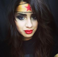 Halloween makeup: WONDER WOMAN by CCordova. Tag your pics with #Halloween and #SephoraSelfie on Sephora's Beauty Board for a chance to be featured!
