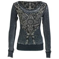 Shyanne® Women's Long Sleeve Lace Thermal Shirt