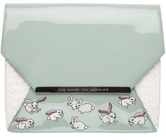 THE MORE THE MERRIER CLUTCH MINT