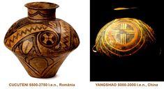 Influenţele civilizaţiei CUCUTENI: YANGSHAO, China (5000-3000 î.e.n.) China, Home Decor, Decoration Home, Room Decor, Home Interior Design, Porcelain, Home Decoration, Interior Design