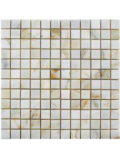 Afyon Sugar 1x1 Square Pattern Polished Marble Mesh Mounted Mosaic Tile #afyon_sugar_marble_tile #square_pattern_mosaic_tile Glass Mosaic Tiles, Tile Floor, Marble, Mesh, Sugar, Pattern, Patterns, Tile Flooring, Granite