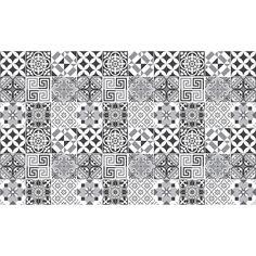 60 Stickers adhésifs carrelages | Sticker Autocollant Carrelage - Mosaïque carrelage mural salle de bain et cuisine | Carrelage adhésif - nuance de gris élégants - 10 x 10 cm - 60 pièces: Amazon.fr: Cuisine & Maison