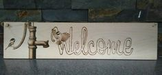 Check out this item in my Etsy shop https://www.etsy.com/listing/492992404/welcome-sign-for-entry-porch-chickadee