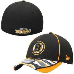 sports shoes 5061d fc101 Boston Bruins New Era 39THIRTY Camstyle Flex Hat - Black