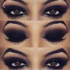 Wooow nice! Black make-up