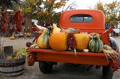 Garcia's Truck at Garcia's Corn Stalk Gift Shop and Fruit Stand in Velarde New Mexico - photography Geraint Smith