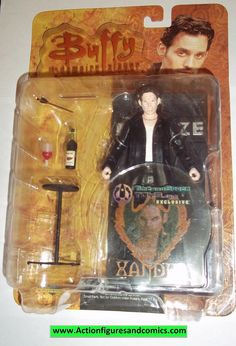 Diamond Distributers BUFFY The VAMPIRE SLAYER / ANGEL action figures 2006 VAMPIRE XANDER Still factory sealed in the original package Condition: overall good condition; minor shelf wear only Figure si