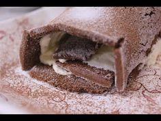 Rocambole de chocolate com chantilly - YouTube