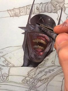 ArtStation - Variant cover: Batman Who Laughs Variant , DC Comics :), Riccardo Federici Character Drawing, Character Design, Riccardo Federici, Batman Art, Batman Metal, Gotham Batman, Batman Robin, Art Sketches, Art Drawings