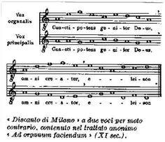 DISCANTUS.  Nacimiento de la polifonía - La Música en la Edad Media